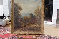 Mott oil painting signed & dated 1895